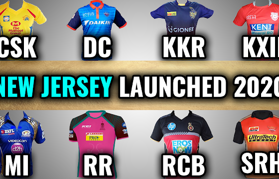 vivo ipl all teams jersey