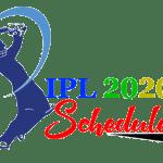 IPL 2020 Schedule