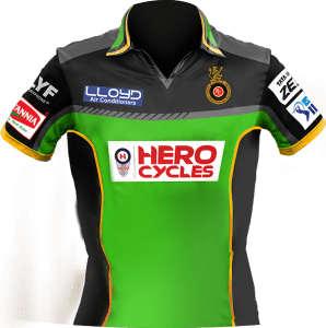 royal challengers bangalore new jersey