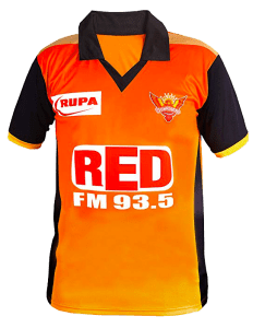 Sunrisers Hyderabad New Jersey